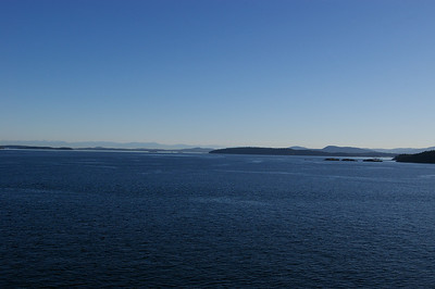 On the ferry from Tsawwassen to Swartz Bay