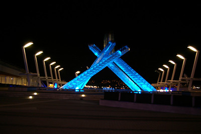 Canada place - Olympic flame