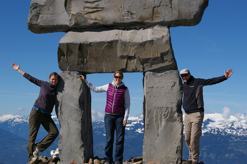 Inuksuk on top of Whistler peak