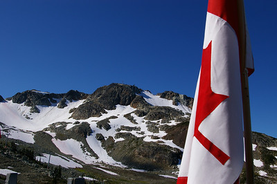 Gondola station on Whistler peak