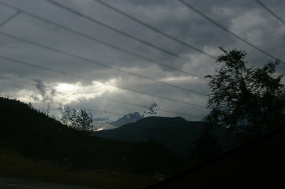 On road to Whistler
