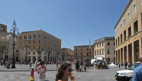 Visit to Lecce 10-08-11