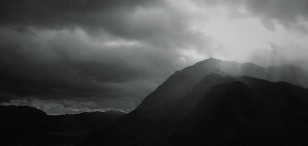 Snowdonia - A brief break in the cloud #1