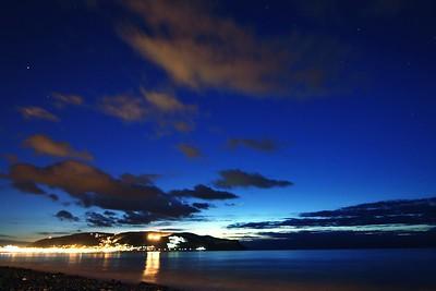 Night Sky over Llandudno Pier
