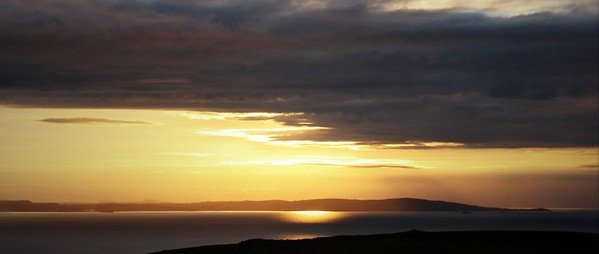 Sunset from the Great Orme #1