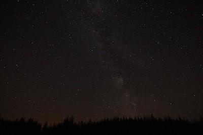 Milky Way over Snowdonia (SOOC)