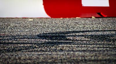 Red Bull Tyre Marks