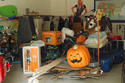 0039 The Garage before Halloween moves to the yard