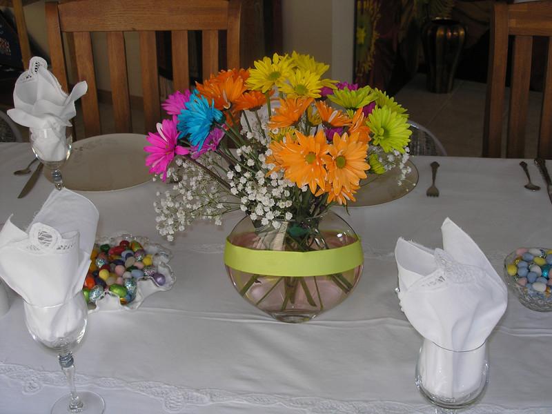 Floral arrangement by Vadis