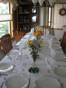 Table setting by Vadis