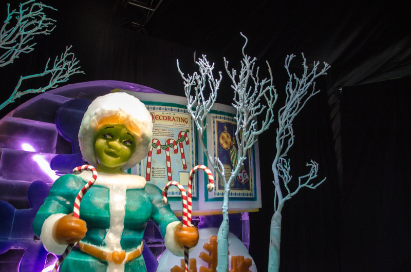 Princess Fiona at ICE Princess Fiona in ICE at the Gaylord National