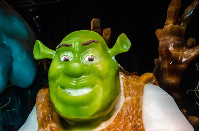 Shreck in ICE Shreck, hand-carved in ICE at the Gaylord National.