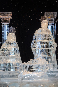 Mary, Joseph, and Jesus in ICE Mary, Joseph, and Jesus in ICE at the Gaylord National