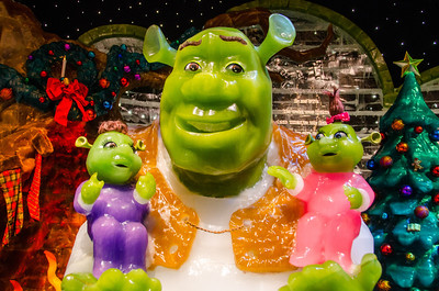 Shreck and his Children in ICE Shreck and his children in ICE at the Gaylord National