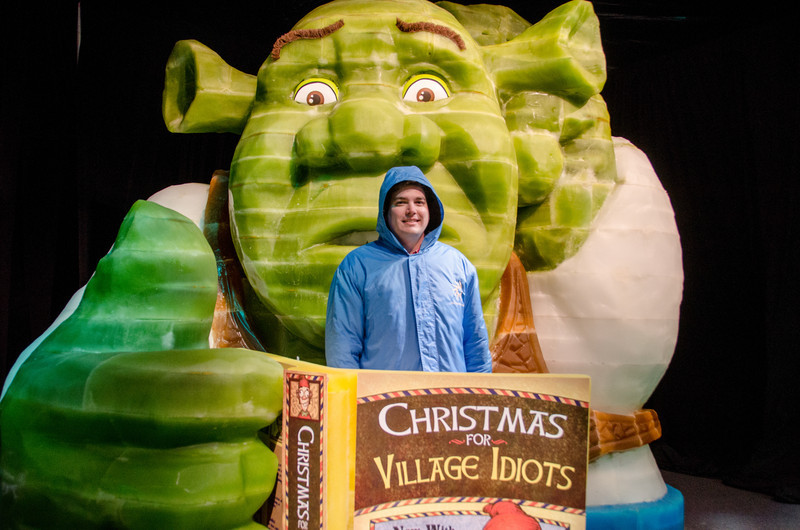 Donnie and Shreck Donnie and Shreck at ICE at Gaylord National