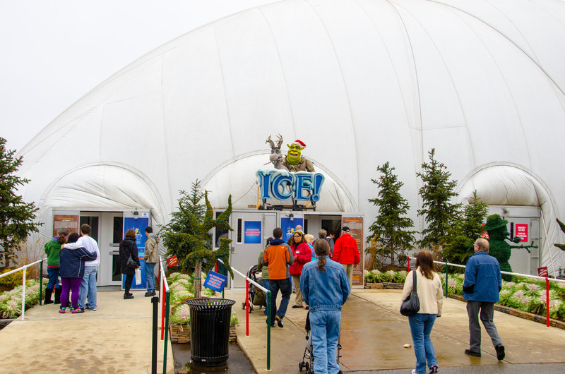 ICE Tent Entrance Entrance into the ICE tent at the Gaylord National