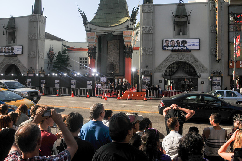 Launch of The Watch (possibly a flop? never heard about it down here yet) at the Chinese Theatre.