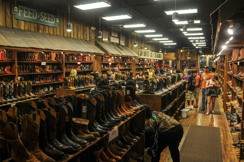 Boots and more boots