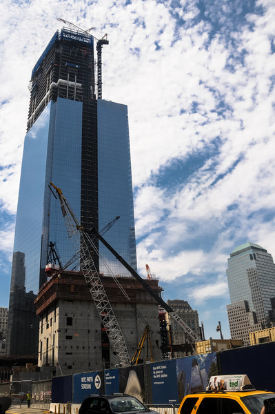 Tower Four, World Trade Center, July 2012.