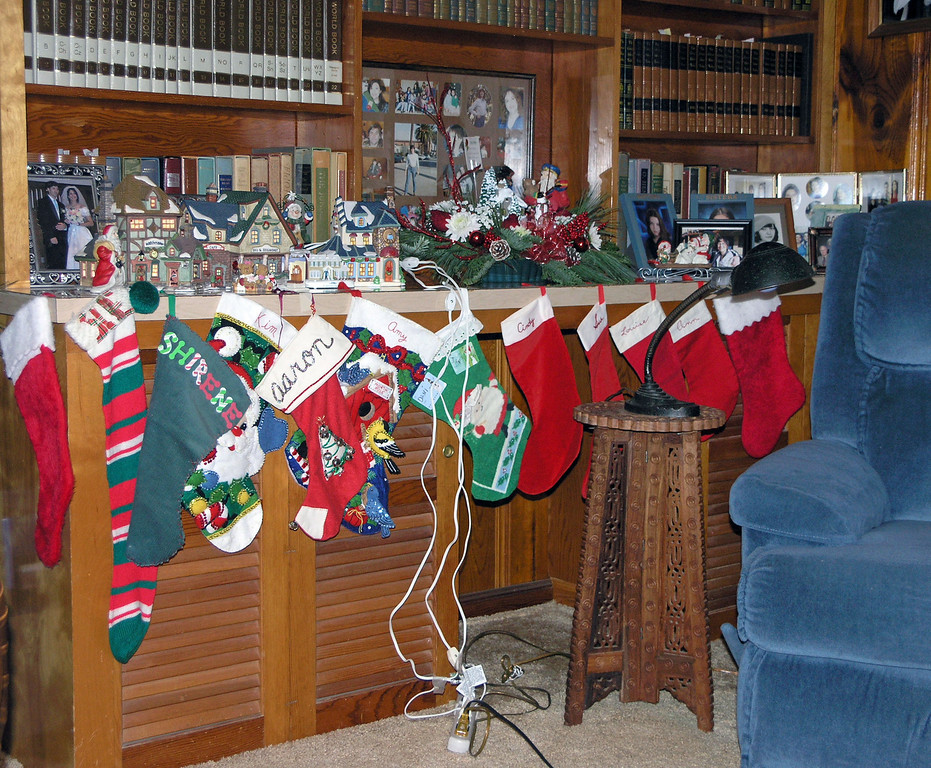Dec 24.  We don't fill stockings anymore, but it's hard to break family tradition.