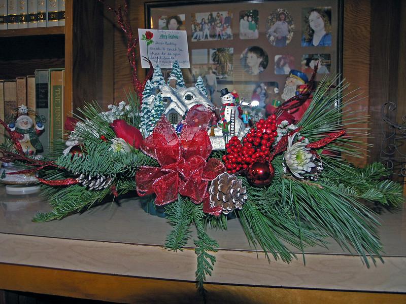 Dec 24.  The arrangement.