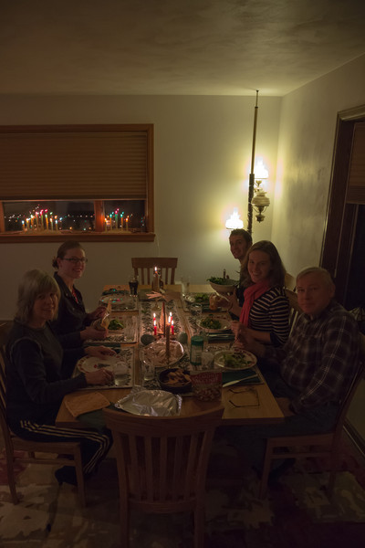 Dec 22. Dinner with the family