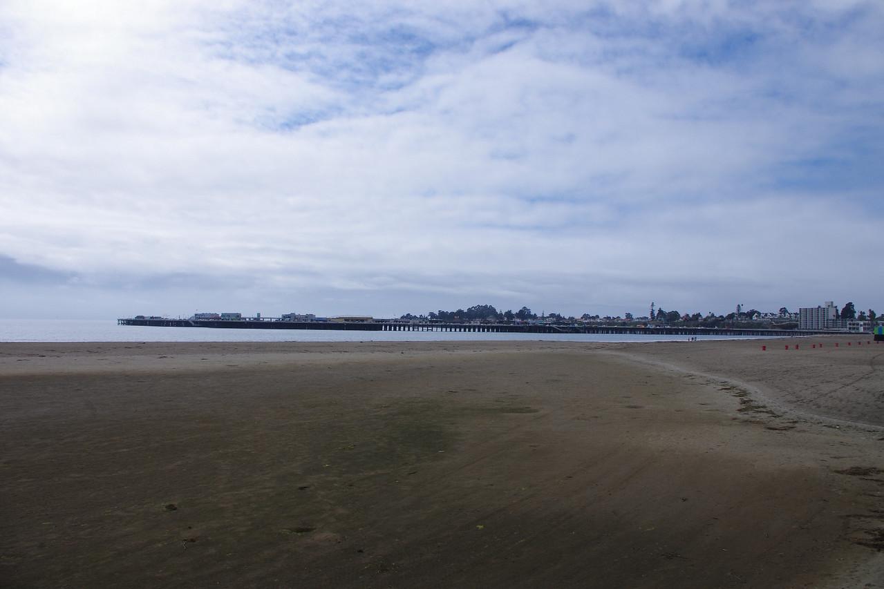 Santa Cruz beach + wharf