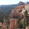 The fantastic pink rock formations of Bryce NP