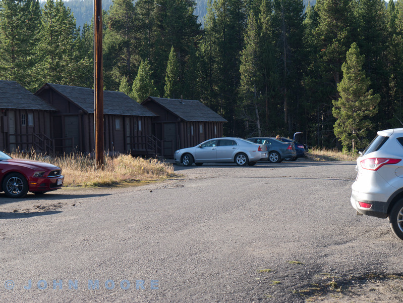 The car (Chevy Malibu) parked out side our lodge. Doesn't look too much from the outside but beautifully appointed within.