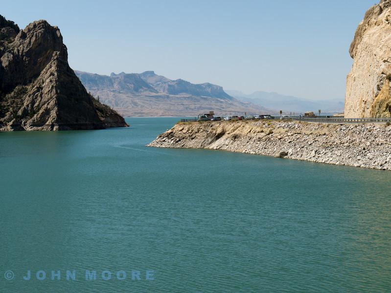 Beautiful views of Cody Reservoir