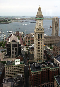 June 2012. An awesome view of Boston taken from the 26th floor of a building where I was attending a charity fundraiser.