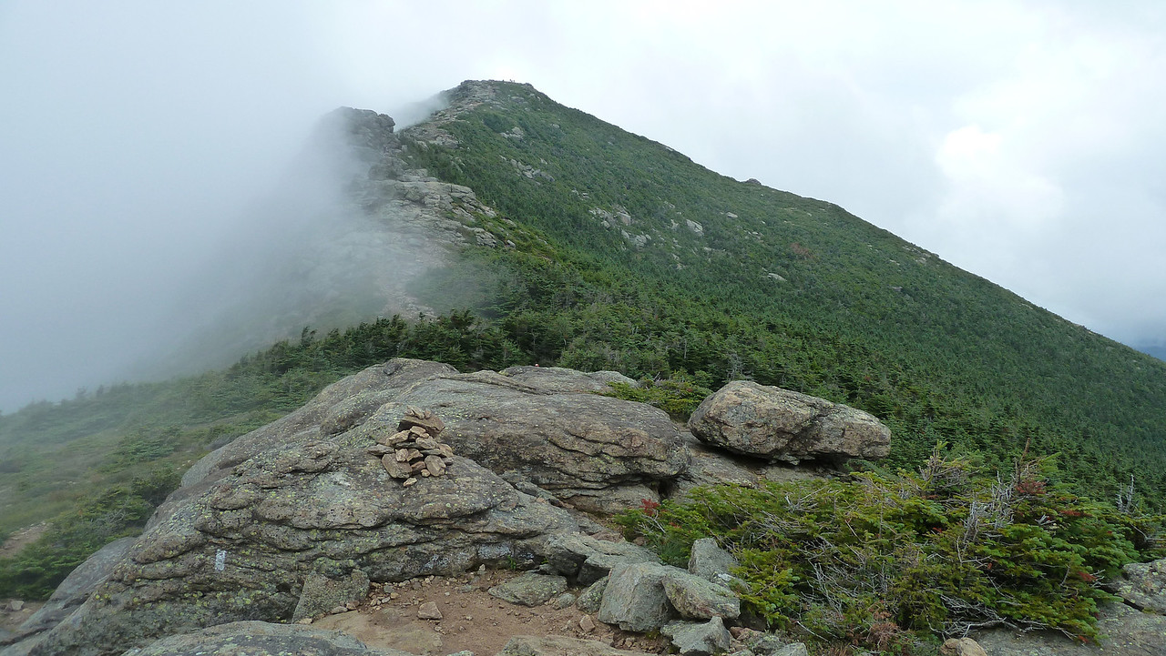 July 2012. An attempt to capture both the beauty and complexity of hiking between two peaks in the White Mountains.