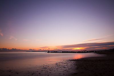 Bournemouth at Sunset