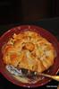 Gigi's Brie cheese/strawberry and pecan bake