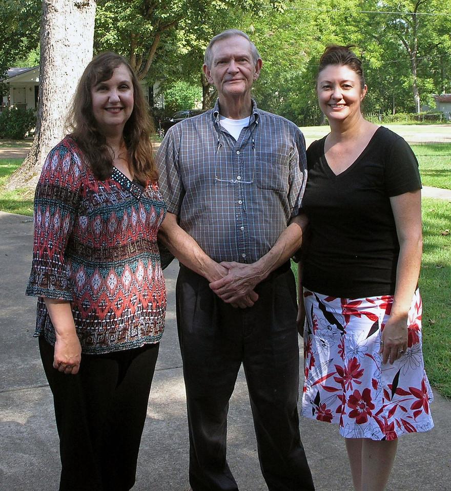 Jul 20.  Louise, Dad, Jo Ann.
