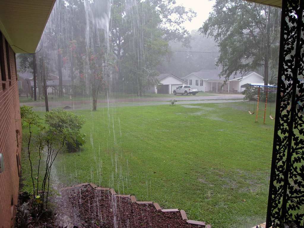 Jul 27.  Heavy rain.