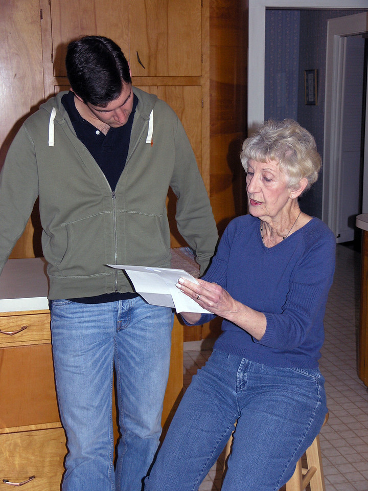 Feb 20.  Gmom receives final instructions.