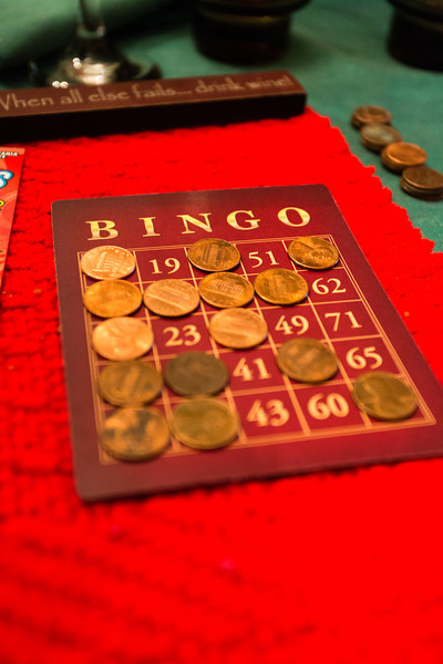 Good idea. Bingo with re-gifts as prizes.