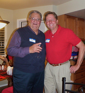 Two past club presidents, with one on his second round