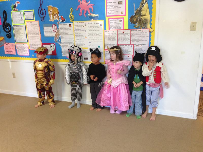 Kirian's Music Class - the Friday before Halloween!