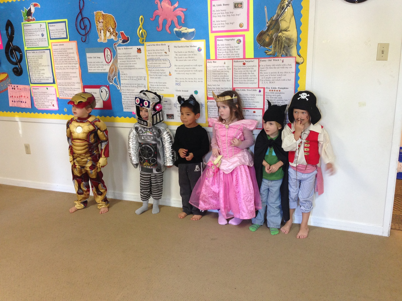 Kirian's Music Class - the Friday before Halloween!