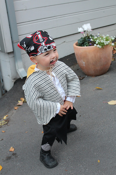 Our tiniest pirate!
