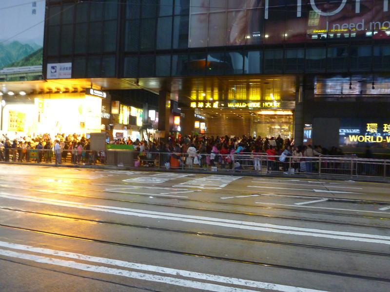 Hong Kong on a Sunday.