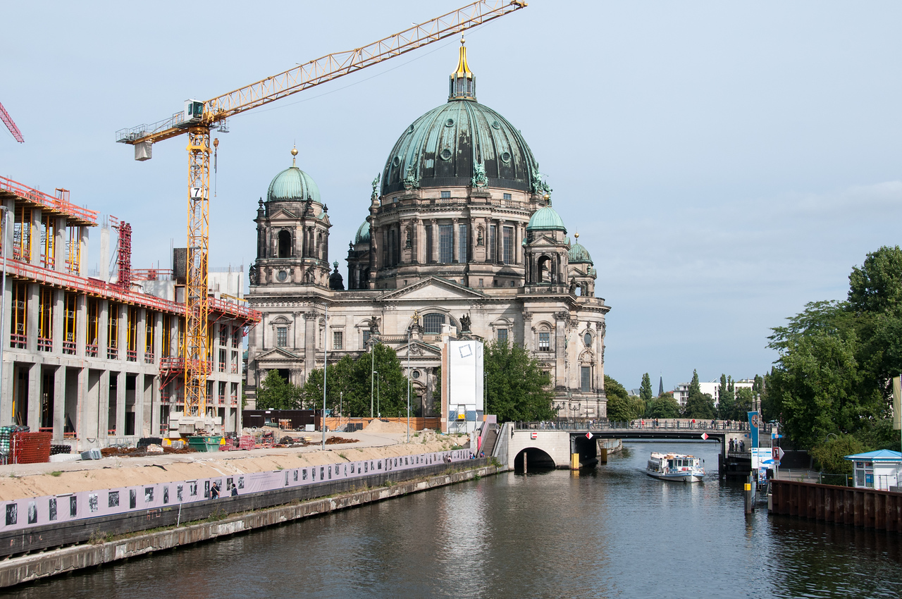 The Berliner Dom - Berling Germany.