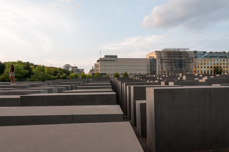Shoah Memorial - Berlin, Germany.