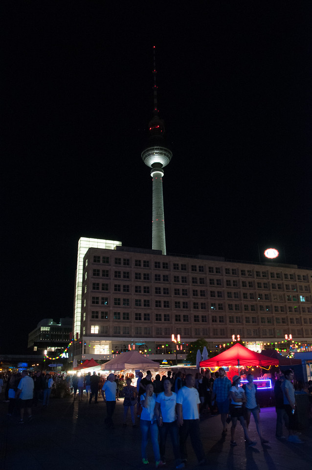 Alexanderplatz - Berlin, Germany.