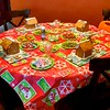 Amy cooks up Ginger Bread houses for Wes, his friend Trevor, Brianna + her friend.  So fun!