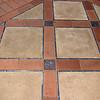 Hearst Castle, where each tile is unique