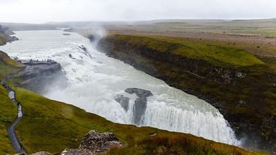 De Gullfoss waterval