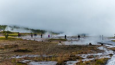 """Geothermische gebied """"De Great Geysir"""""""
